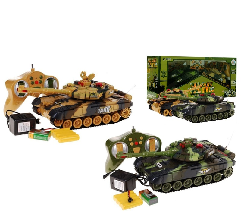AGA RC Tank WAR SET 2ks