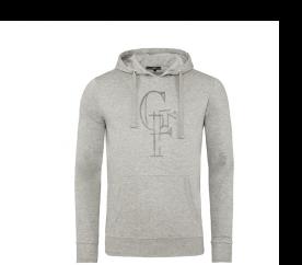 GF Ferre Bluza z kapturem Light Grey X848