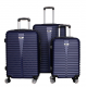 Aga Travel Set kufrů MC3077 S,M,L Blue
