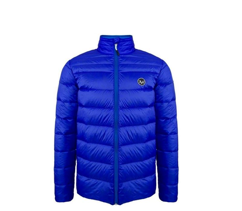 Versace 19.69 Pánská bunda s kapucí C50 Royal Blue