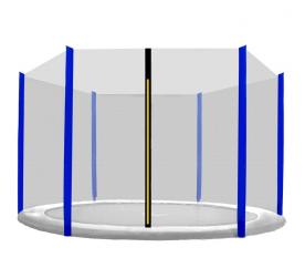 Chiemsee Ochranná síť 305 cm na 6 tyčí Blue