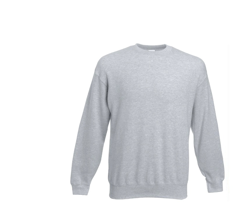 Fruit Of The Loom SET-IN SWEAT Heather Grey