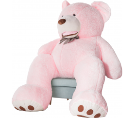 Aga4Kids Plyšový medvěd 250 cm Amigo Pink