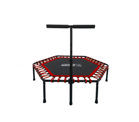 Olympic Sport Fit FITNESS Trampolína 130 cm Red + madlo