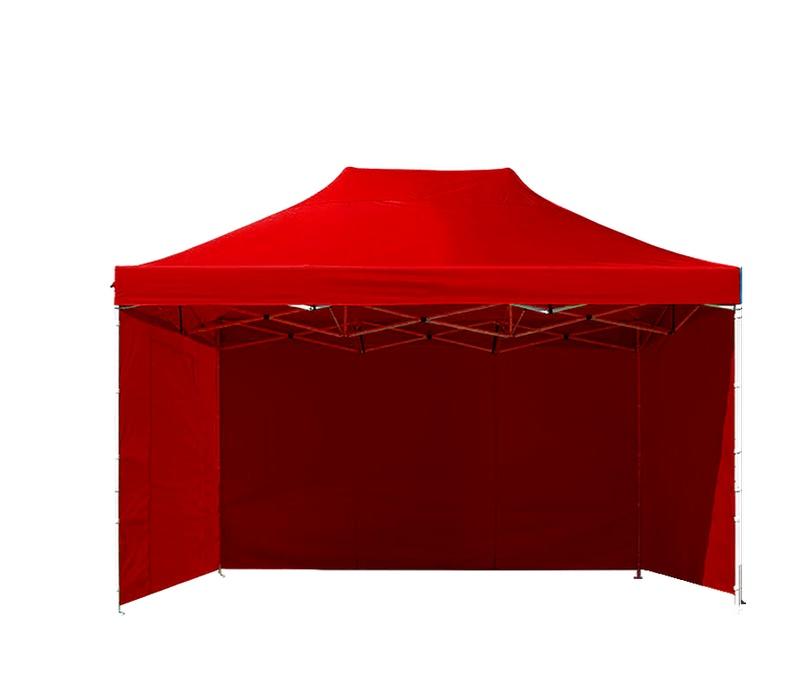Aga Prodejní stánek 3S POP UP 3x4,5 m Red