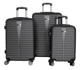 Aga Travel Set kufrů MC3080 S,M,L Grey