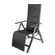 Linder Exclusiv Leżak fotel ogrodowy Venezia Black