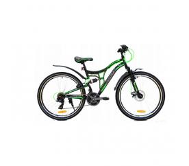 """Goetze Adventure Horské kolo pánské 26"""" Černo - Zelené"""