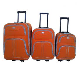 Linder Exclusiv Zestaw walizek COMFORT COLORS MC3052 S,M,L Orange