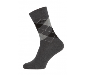 Versace zoknik BUSINESS 5-Pack Anthra-Grey (C170)