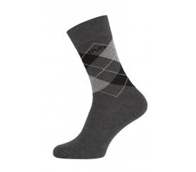 Versace 19.69 Ponožky BUSINESS 5-Pack Anthra-Grey (C170)