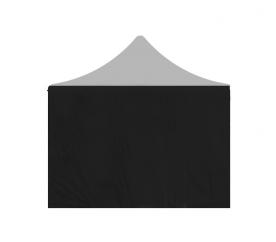 Aga oldalfal POP UP 3x4,5 m Black