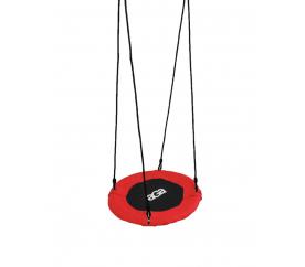 Aga Závěsný houpací kruh 60 cm Červený