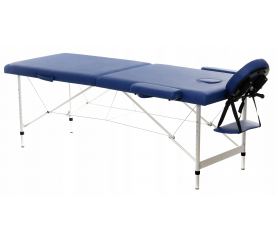 Aga Hliníkové masážní lehátko AT201 Blue
