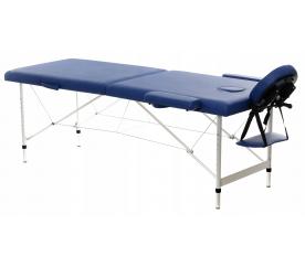 Aga Hliníkové masážní lehátko AT201 Dark Blue