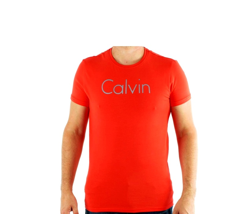 CALVIN KLEIN Tričko cmp93p 529 Rouge Vif