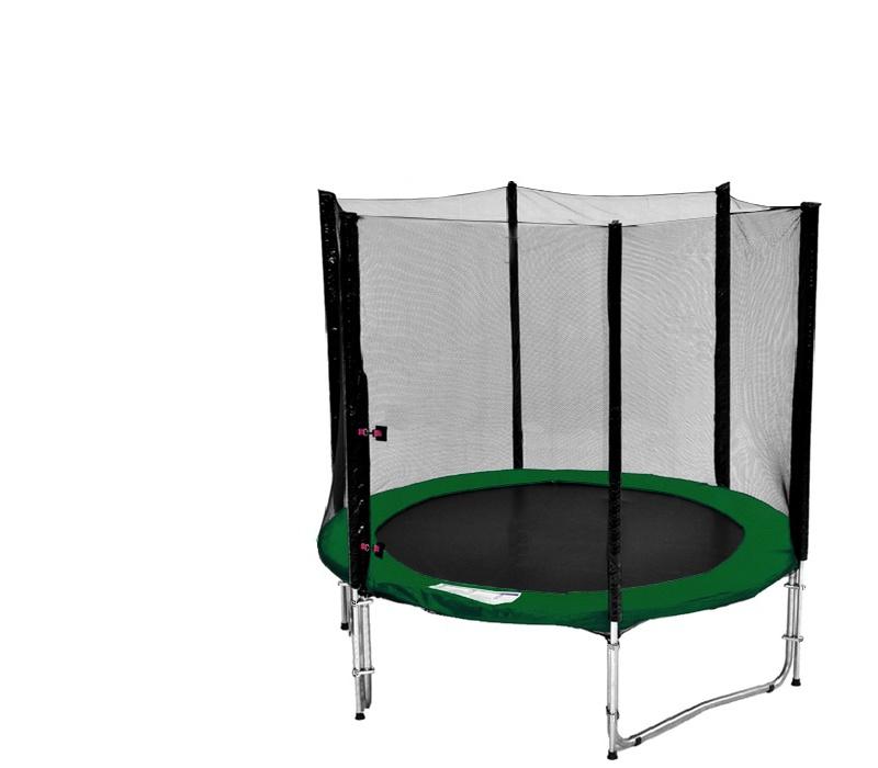Aga SPORT PRO Trampolína 150 cm (5 ft) s ochrannou sieťou Green