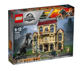 Lego Jurassic World Řádění Indoraptora vLockwoo..
