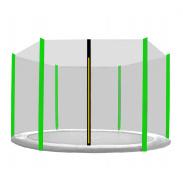 Aga Ochranná síť 150 cm na 6 tyčí Black net/ Light Green