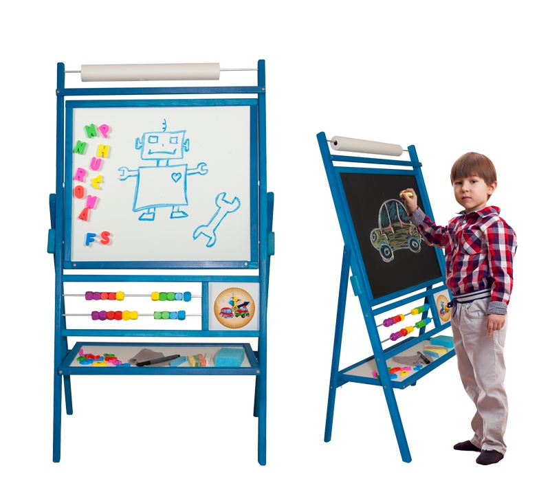 Aga4Kids Detská tabuľa BIG BLUE TRB