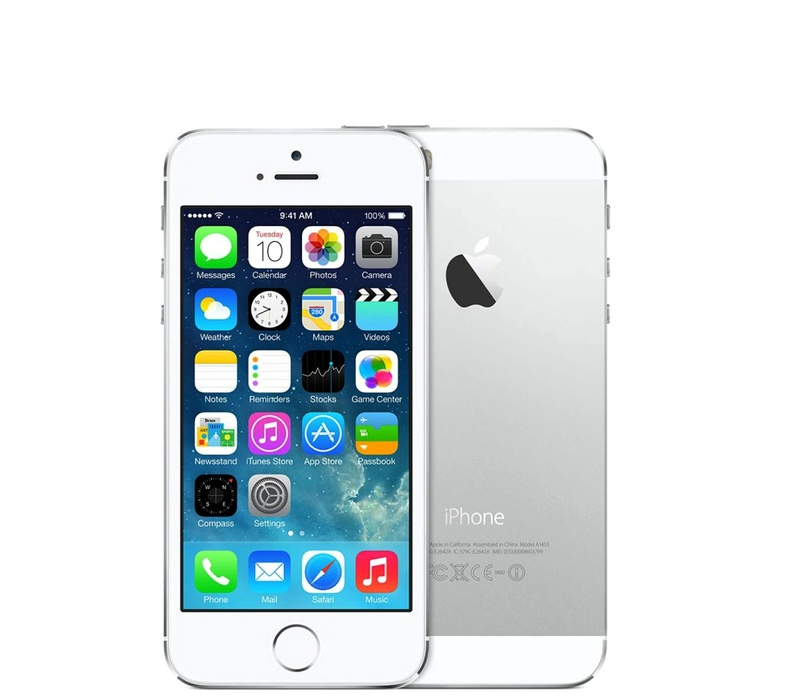 Apple iPhone 5S 64GB Silver Kategorie: B