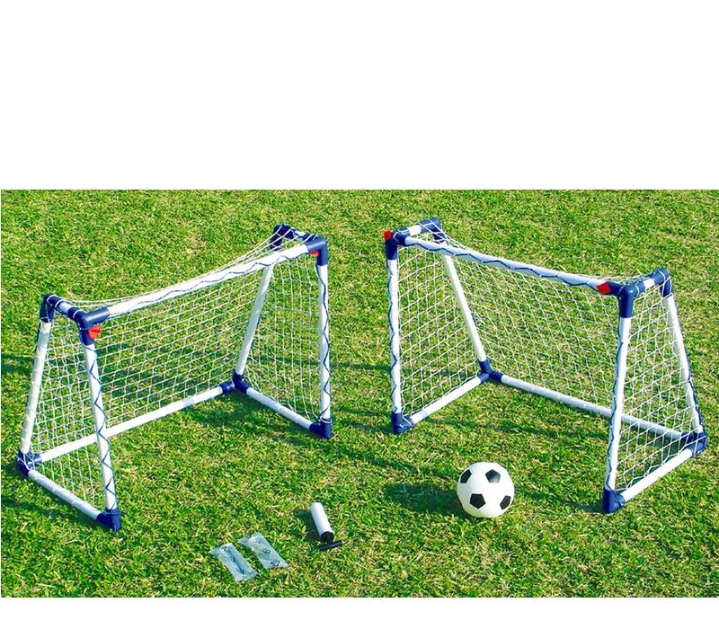 Aga Fotbalový set 2 JUNIOR SOCCER GOAL JC-8219A 74x60x46 cm