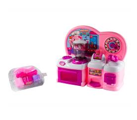 Aga4Kids Kuchnia plastikowa interaktywna HAPPY COOKING Pink HM841844