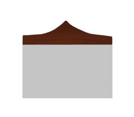 Aga Náhradní střecha POP UP 3x3 m Brown