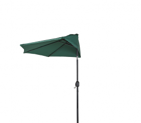 Aga Půlkruhový slunečník CLASSIC 270 cm Dark Green