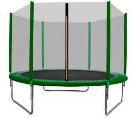 Aga SPORT TOP Trampolína 250 cm Dark Green + ochranná síť