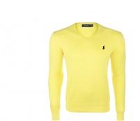 Ralph Lauren Svetr V-NECK SWEATER Lemon Yellow
