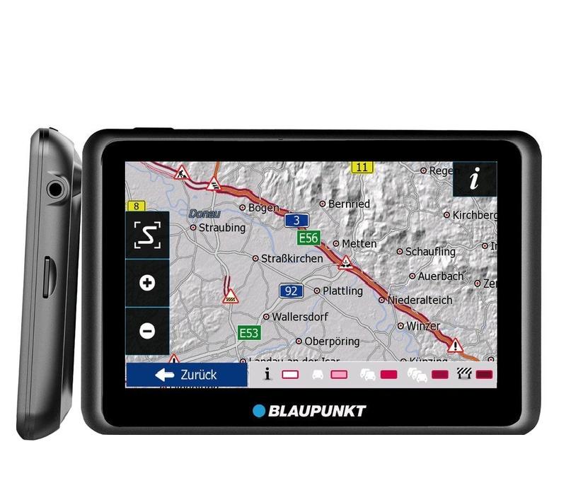 Blaupunkt GPS navigácia TravelPilot 55 Active CE LMU