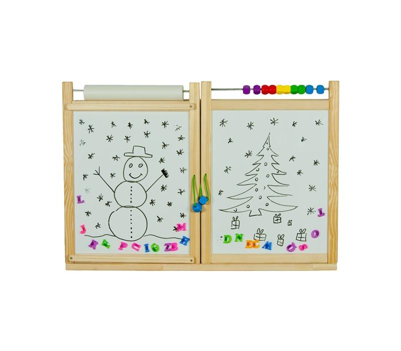 Aga4Kids Detská tabuľa WINDOW NATURAL TS1