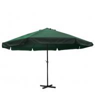 Aga Slunečník CLASSIC 500 cm Dark Green