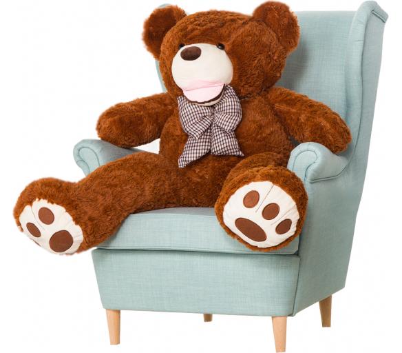 Aga4Kids Plyšový medvěd 130 cm Amigo Brown