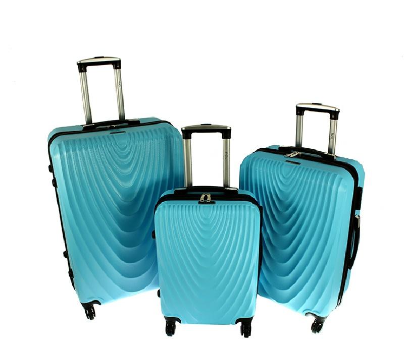 RGL Cestovní kufry HC663 XXL,XL,L Barva: Azure