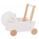 Aga4Kids Drewniany wózek dla lalek Emily