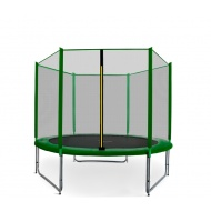 Aga SPORT PRO Trampolína 275 cm Dark Green + ochranná sieť