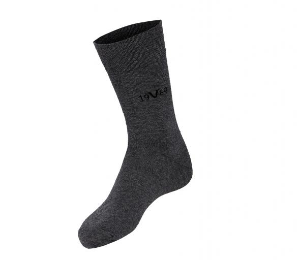 Versace 19.69 Ponožky BUSINESS 5-Pack Grey (C131)