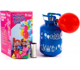Aga4Kids Helium do balónků PARTY 20 MIX Green/Blue