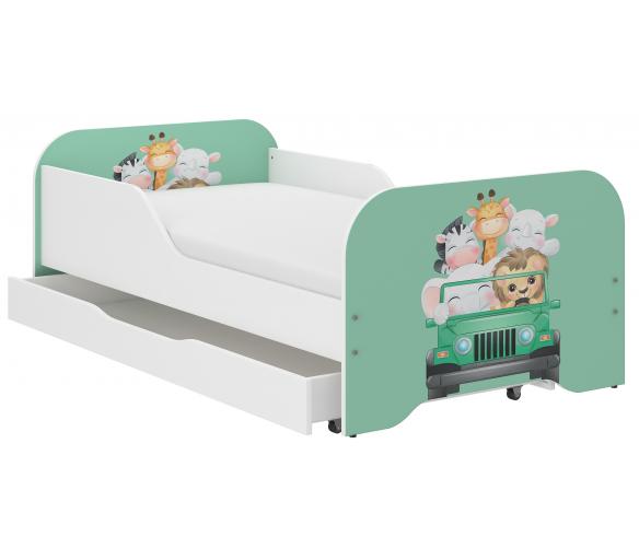 Wooden Toys Dětská postel Trip 160x80 cm