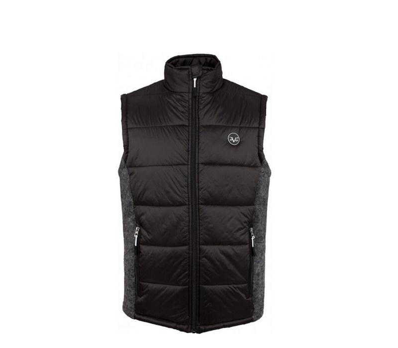 Versace 19.69 Pánská prošívaná vesta C78 Black
