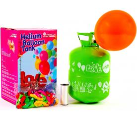 Aga4Kids Helium do balónků PARTY 50 MIX Green/Blue/Pink