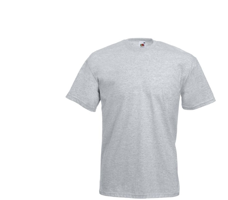 Fruit Of The Loom Tričko VALUEWEIGHT T Heather Grey