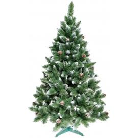 Aga Vánoční stromeček 220 cm s šiškami