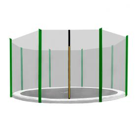 Aga Ochranná sieť 366 cm na 8 tyčí Black net / Dark green