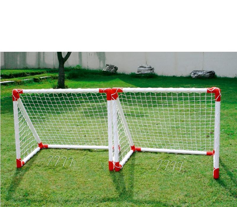 Aga Fotbalový set 2 MINI SOCCER GOAL JC-7219AS 78x68x53 cm