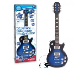 Rocková kytara elektronická Gibson s head setem