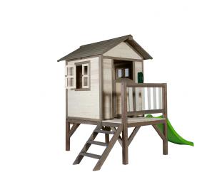 Axi Cedrowy domek ogrodowy LODGE-XL Grey