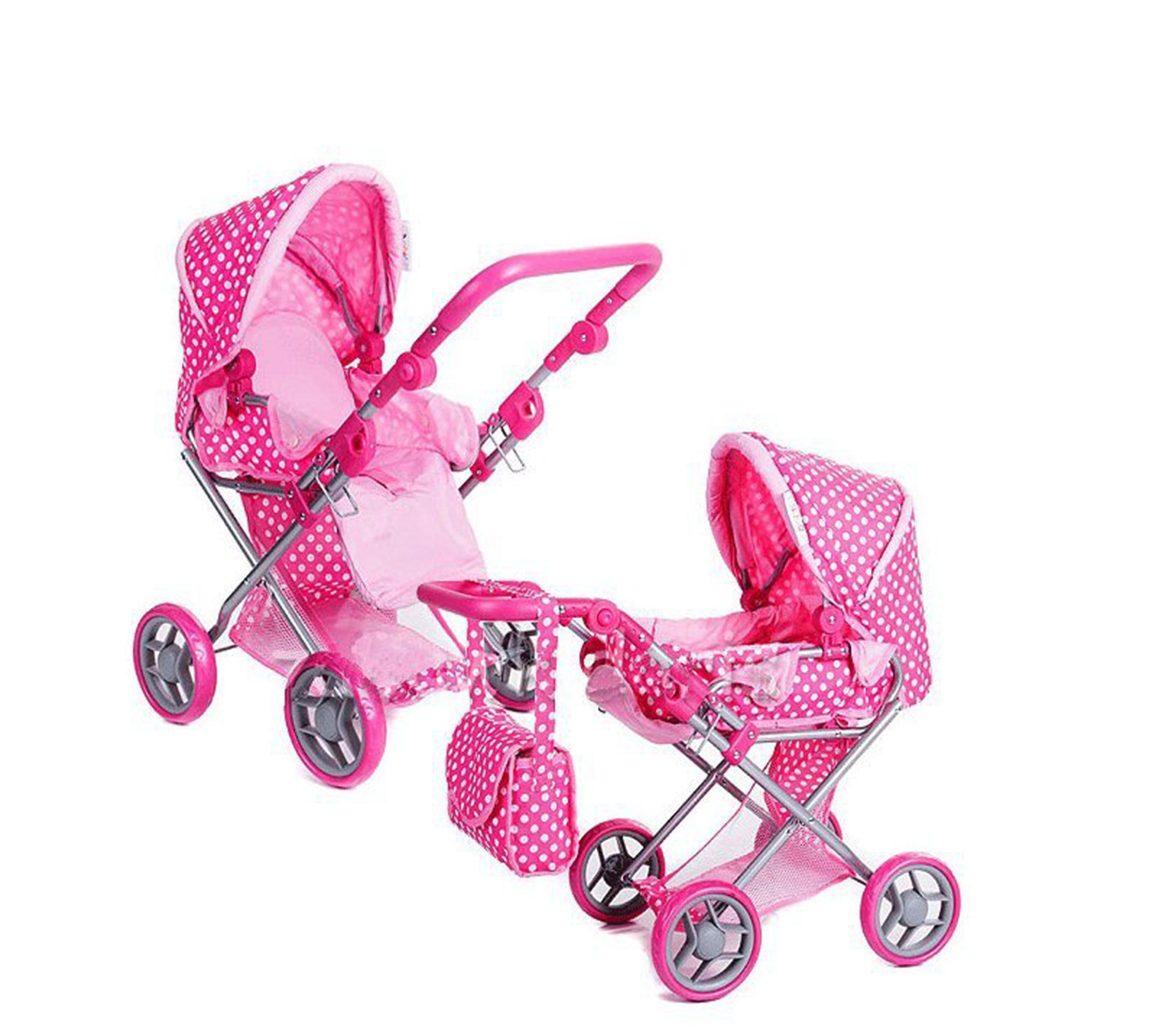 Doris Kočárek pro panenky 9346 Pink 1